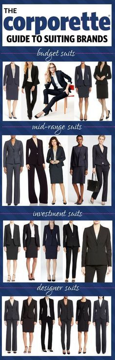 Need to buy a suit for interviews, a new job, or just to freshen up your wardrobe? Here's our major roundup for the best brands of suiting for women -- from the budget options, to the investment pieces, to the designer splurges, we've got them all...