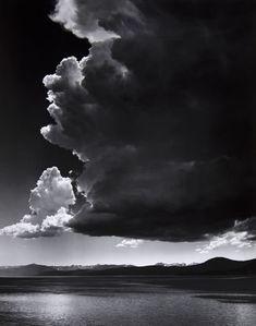Ansel Adams, Thundercloud, streamsofcontext.tumblr.com, from sleep-water