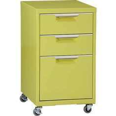 Rolling file cabinets make it easy to rearrange your space quickly. Adding casters to one you already have will save $ and time.