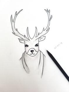 #Zeichnung 🦌✏