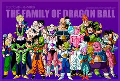 The family of Dragon Ball by albertocubatas on DeviantArt