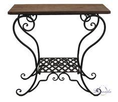 Príručný stolík, TOSCANA, vidiecky štýl, vintage, vidiecky nábytok