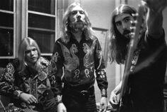 Gregg Allman, Duane Allman, & Berry Oakley