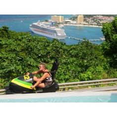 Mystic Mountain Bobsled and Chairlift, Jamaica