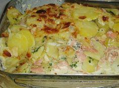 Gratin de pommes de terre et saumon : la recette facile