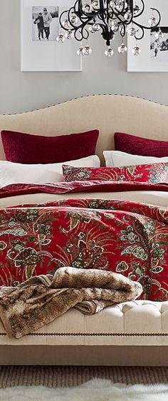 Velvet Christmas Bedding