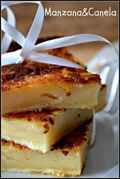 Apple & Cinnamon: Quesada pasiega: my mother's recipe Apple Recipes, My Recipes, Sweet Recipes, Favorite Recipes, Flan, Delicious Desserts, Yummy Food, Pan Dulce, Vegan Meal Prep