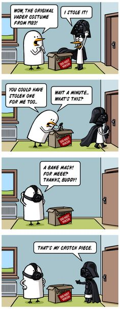 The Original Darth Vader Costume