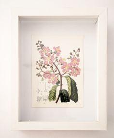 Cuadro floral tipo caja Nro. 4