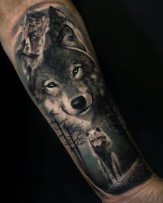50 of the most beautiful wolf tattoo designs the internet has ever seen - great . - 50 of the most beautiful wolf tattoo designs the internet has ever seen – great wolf tattoo ideas - Wolf Sleeve, Wolf Tattoo Sleeve, Lion Tattoo, Sleeve Tattoos, Tattoo Wave, Chest Tattoo, Tattoo Ink, Wolf Tattoos Men, Native Tattoos