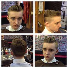 Under cut men's hair 2014