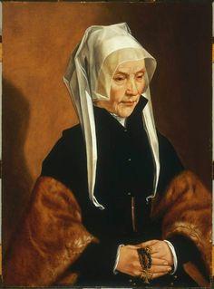 Portrait of Sophia Van Amerongen Maarten van Heemskerck Philadelphia Museum of Art