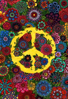 Design a Peace Sign - Sketchbook Page Idea. Could choose a time period/style to tie in with art history too.