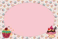 Resultado de imagen para separador Cake Wallpaper, Bakery Business Cards, Cake Logo Design, Cupcake Card, Printable Recipe Cards, Logo Creation, Clip Art, Ceramics Projects, Borders And Frames