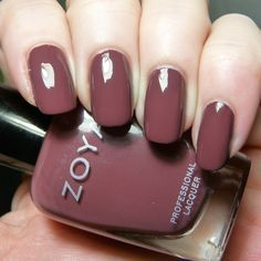 My Thoughts on Marsala, Pantone's Color of the Year 2015 and Zoya Marney   Pointless Cafe