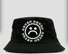 bb5dd1c68c3 KYC Vintage Very RARE Sad Boyz Bucket Hat Yung Lean Supreme RARE Air