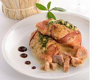 #Pollo con #coppa e #funghi by @Caffé Millennium