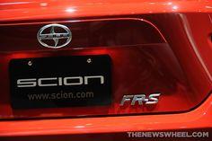 Scion FR-S nameplate