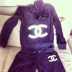 25 Best Chanel Sweat Suits Images In 2018 Coco Chanel Athletic