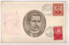 Philippine Republic Stamps Marcelo H del Pilar