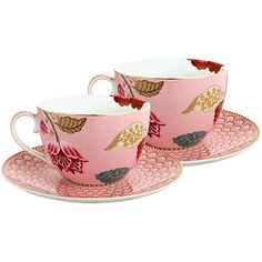 Buy PiP Studio Fantasy Cup & Saucer, Set of 2 Online at johnlewis.com More