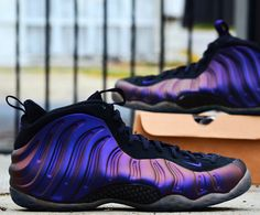 hot sale online f1401 e359e Nike Air Foamposite One (314996-008) Eggplant Pre Order and Release on 29