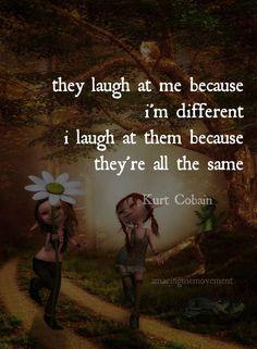 I love Kurt Cobain ❤