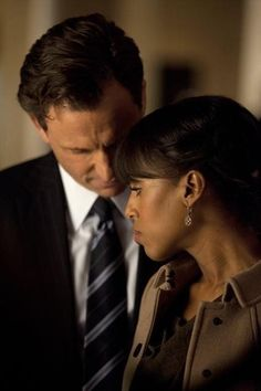 """""""I've seen you two together. You breathe in sync."""" Scandal."""