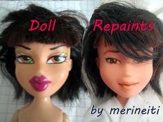 Bratz doll make under / repaint by merineiti