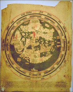 South America on ancient, medieval and Renaissance maps - Henricus Martellus's map - By Nito Verdera World Map Travel, World Map Art, Old World Maps, Old Maps, Travel City, Vintage Maps, Antique Maps, Medieval, Alchemy Art