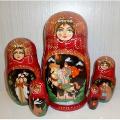 Lilou #Babushka #russiandoll #matryoshka #dollsindolls #decor #traditional