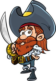 Anton Brand Cartoon Pic per Day Christmas Cartoon Pictures, Christmas Cartoons, Pirate Illustration, Character Design Tips, Pirate Theme, Tigger, Pirates, Disney Characters, Fictional Characters