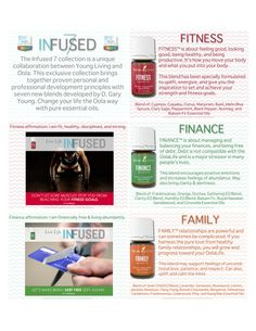 Young Living Essential Oils:   Oola  Infused 7 Collection