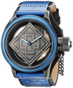 Invicta Men's 17648 Russian Diver Analog Display Swiss Quartz Black Watch