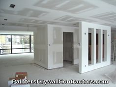 Complete Drywall and Paint provides premium quality Drywall Installation, Drywall Over Panelingand Painting Services for residential and commercial properties in Moose Lake, MN. Tv Wall Design, House Design, Drywall Contractors, Gypse, Gypsum Wall, Drywall Installation, Accent Walls In Living Room, Plasterboard, Half Walls