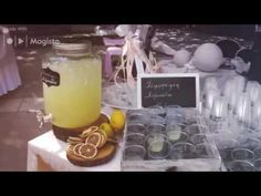 live food styling / Lemonade Bar