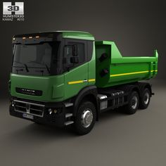Kamaz 65802 6x6 Dumper Truck 2013 uit Rusland