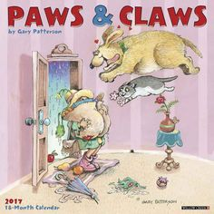 Paws & Claws by Gary Patterson Calendar 2017