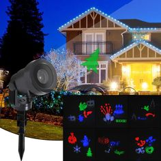 green & Blue With Traditional Methods Magicfly Starry Laser Light Projection Christmas Lights Landscape Lights With Rf Wireless Remote Control