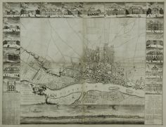 Map of the City of Warsaw by Pierre Ricaud de Tirregaille, 1762 (PD-art/old), Biblioteka Narodowa, sponsored by Franciszek Bieliński, a strong proponent of the expansion and the modernisation of the city, his sumptuous rococo palace was depicted in upper right corner