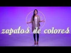 Cómo usar zapatos de más de 2 colores – Dress Code - YouTube