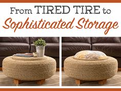 Check out this American Lifestyle Magazine blog post! Turn An Old Tire Into Sophisticated Storage