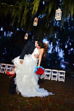 Florida Country Barn Wedding: Stephanie    Keith