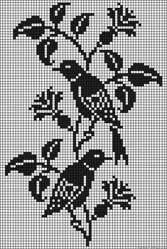Birds perler bead pattern