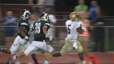 Running Back Andre Robinson crossed the goal line Friday night (09/07/12)
