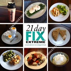 21 Day Fix Extreme Countdown to Competition Nutrition Day