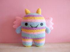 Cutesie Monsters - Crocheted Plush Amigurumi Doll Birthday Gifts Cute Baby Toys on Etsy, £13.45