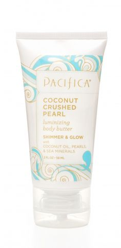 Pacifica Coconut Crushed Pearl Luminizing Body Butter 2oz