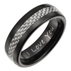 Willis Judd Mens New Black 7mm Tungsten Ring Engraved I Love You With Silver Carbon Fiber In Black Velvet Ring Box Willis Judd, http://www.amazon.com/dp/B009GIBR3G/ref=cm_sw_r_pi_dp_OBdbrb0WDV1F2