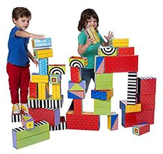 Shop for active play & games today at Young Explorers. Fabulous selection of fun and educational active play & games available, shop today! Blocks For Toddlers, Cardboard Play, Alex Toys, Thing 1, Top Toys, Three Year Olds, Gross Motor, Imaginative Play, Kids Playing